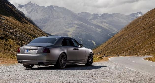 Novitec Rolls-Royce Ghost-rear
