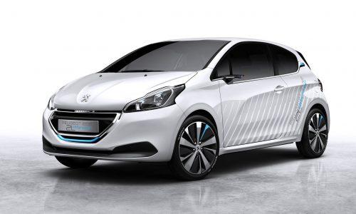 Peugeot 208 HYbrid 2L runs on air, debuts at Paris show
