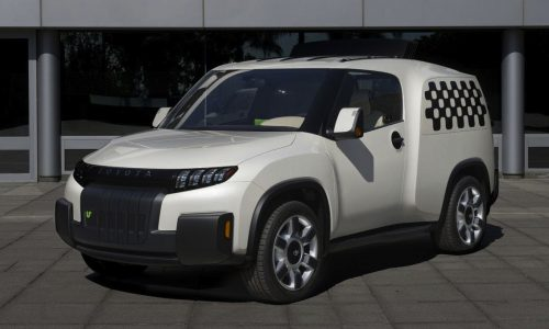 Toyota Urban Utility 'U2' concept is an SUV van convertible