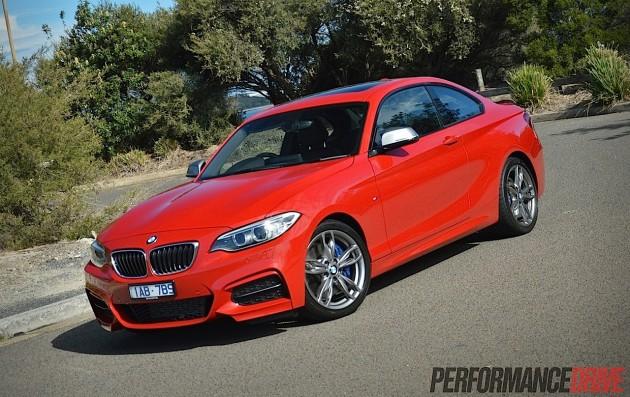 2014 BMW M235i-Melbourne Red