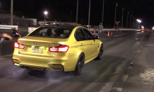 Video: Standard 2014 'F80' BMW M3 runs 11.66 quarter mile