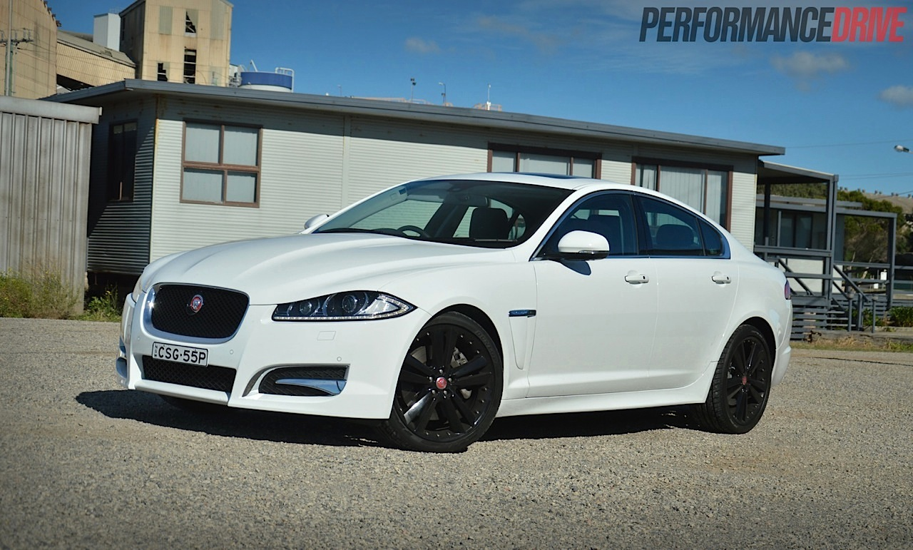 2014 Jaguar XF S Polaris White