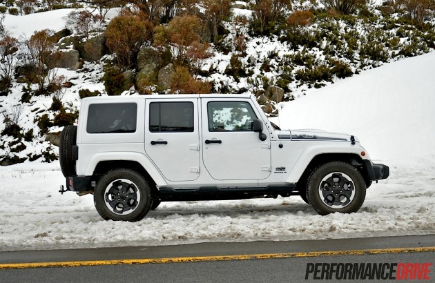 2014 Jeep Wrangler Polar-four-door