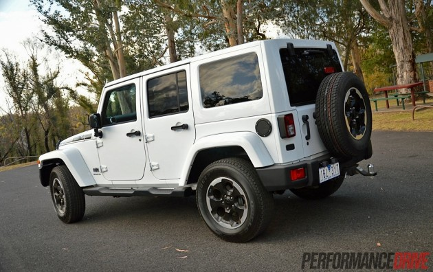 2014 Jeep Wrangler Polar-rear