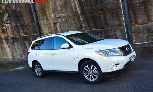 2014 Nissan Pathfinder ST review (video)