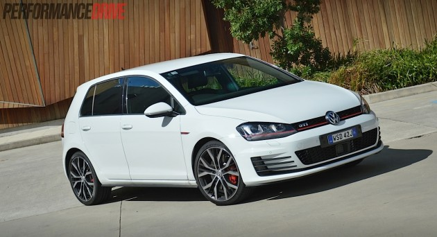2014 VW Golf GTI Performance-Pure White
