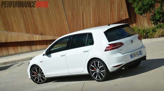 2014 VW Golf GTI Performance-rear