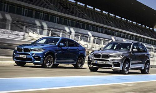 2015 BMW X5 M & X6 M revealed; more power, improved economy