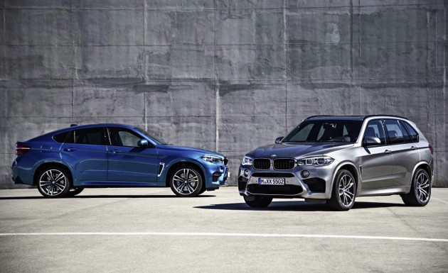 2015 BMW X5 and X6 M