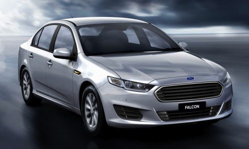 2015 Ford Falcon fuel economy improved 9%, interior revealed
