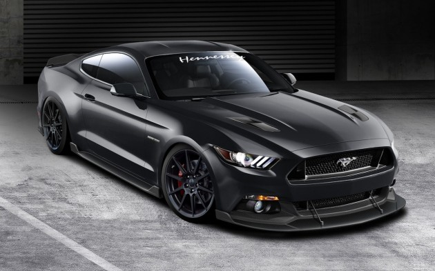 2015 Ford Mustang Hennessey front exterior