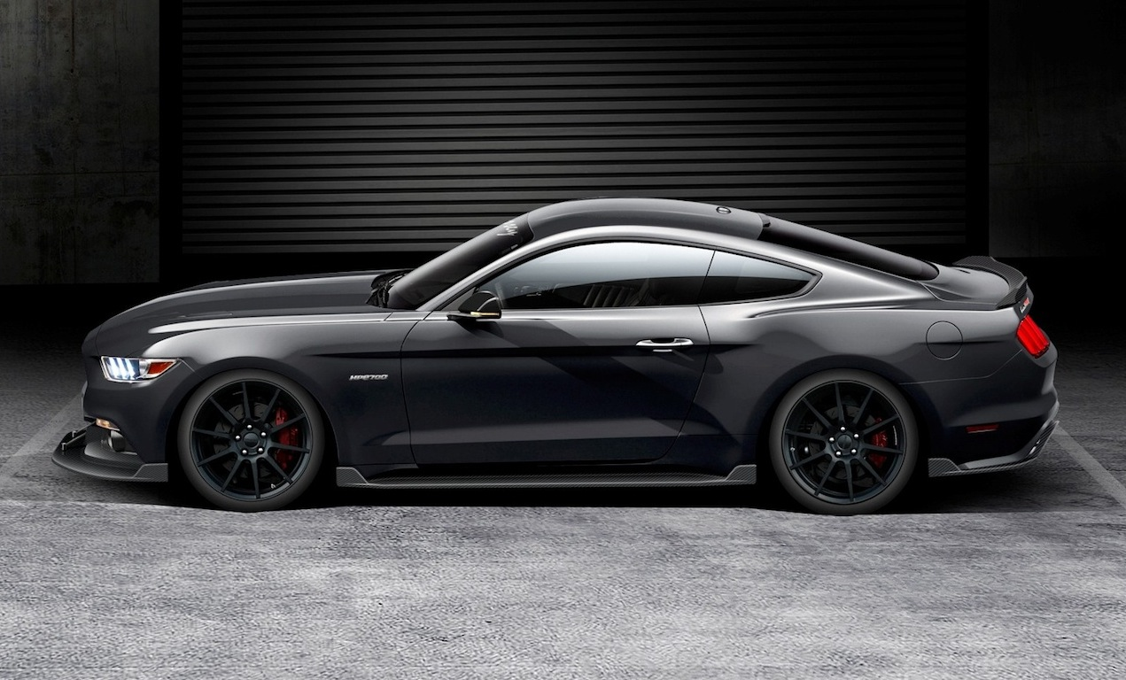 hennessey hpe kit announced   ford mustang performancedrive