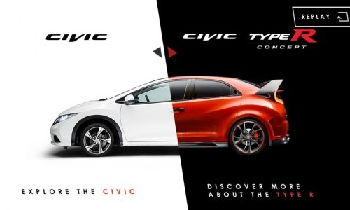 Honda launches clever interactive video for 2015 Civic Type R