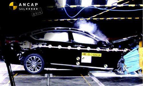 2015 Hyundai Genesis awarded five-star ANCAP safety