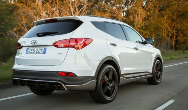 2015 Hyundai Santa Fe SR-Australia