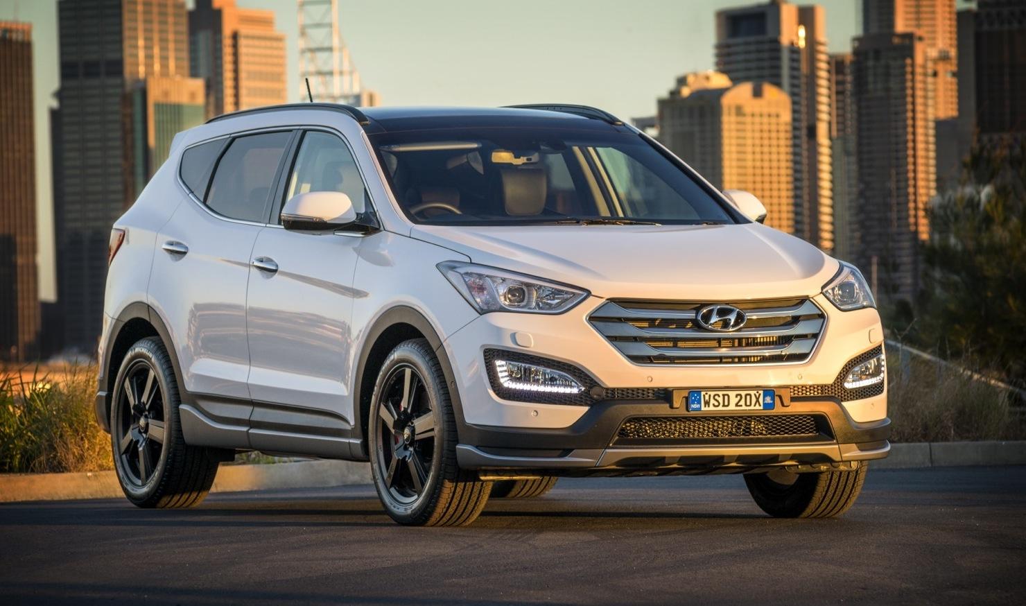 Sporty 2015 Hyundai Santa Fe Sr Revealed Arrives Q1 Performancedrive