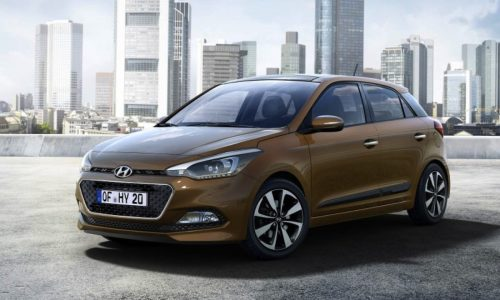 2015 Hyundai i20 revealed at Paris, new turbo 1.0L engine