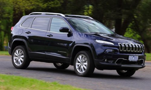 2015 Jeep Cherokee Limited Diesel on sale from $49,000