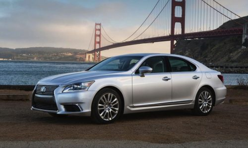 2015 Lexus LS revealed, more performance for F Sport