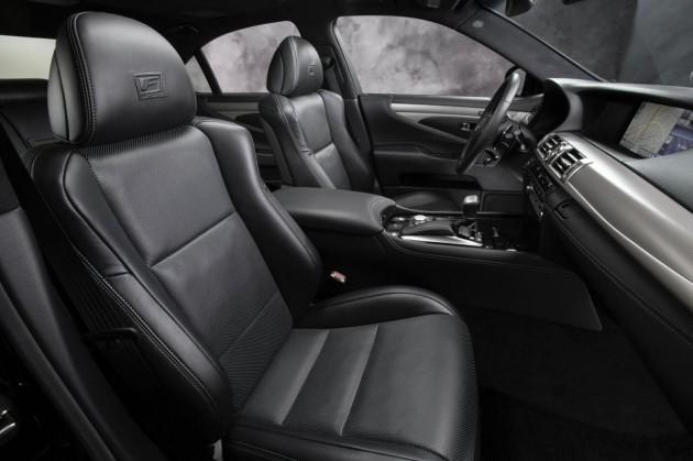 2015 Lexus LS F Sport seats