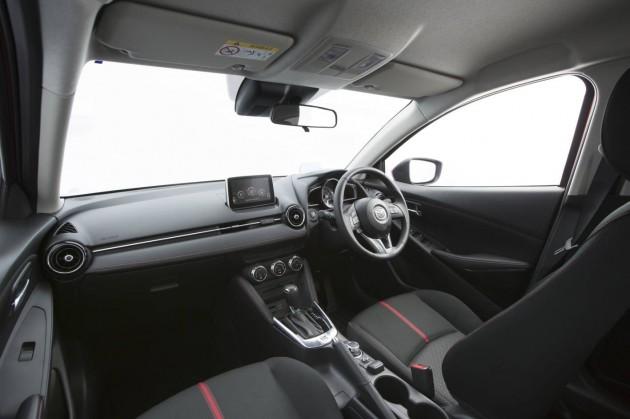 2015 Mazda2 Genki-interior