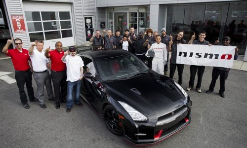 First 2015 Nissan GT-R Nismo delivered to US customer