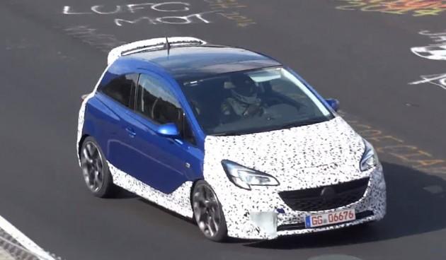 2015 Opel Corsa OPC prototype