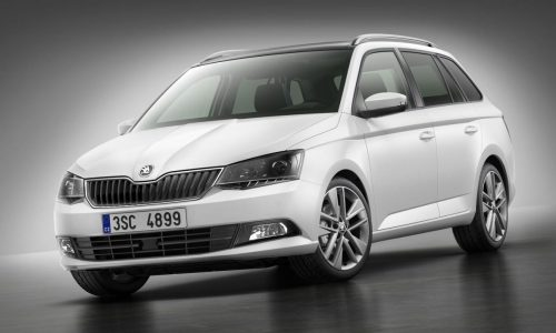 2015 Skoda Fabia Combi wagon revealed