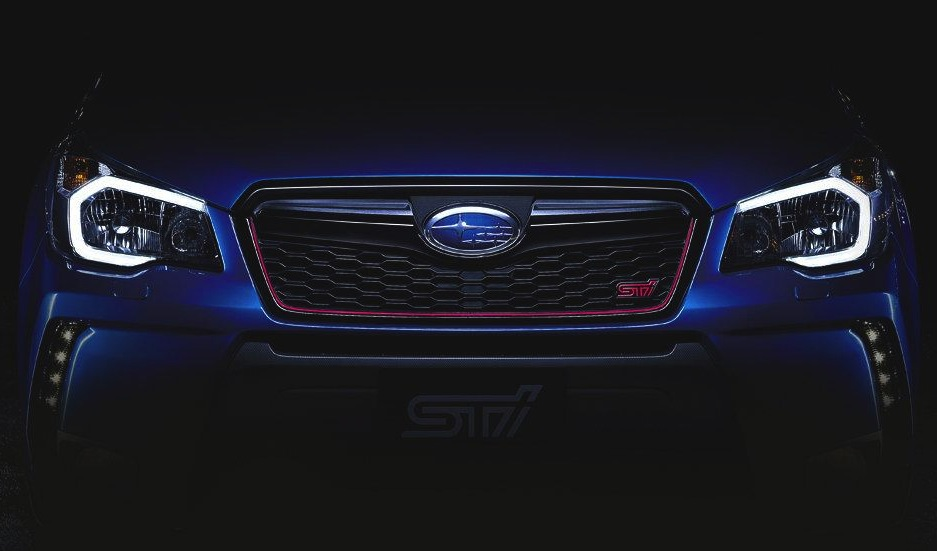 Subaru Forester STI previewed, new performance SUV