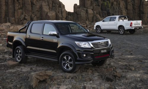 2015 Toyota HiLux Black on sale from $53,240