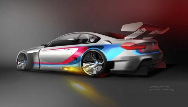 2016 BMW M6 GT3-rear