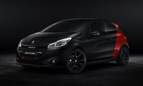 Peugeot 208 GTi 30th Anniversary edition unveiled at Paris