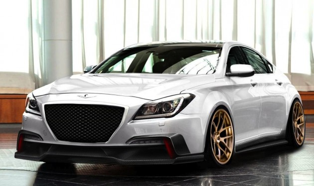 ARK-Performance-SEMA-2015-Hyundai-Genesis-V8-preview