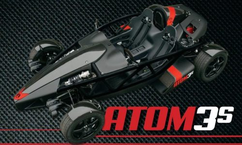 Ariel Atom 3S revealed, capable of 1/4 mile in 10.7 seconds