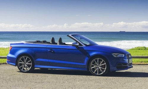 Audi S3 Cabriolet now on sale in Australia from $69,300