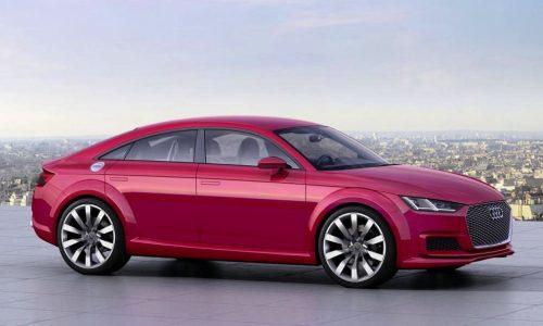 Audi TT Sportback concept revealed at Paris Motor Show