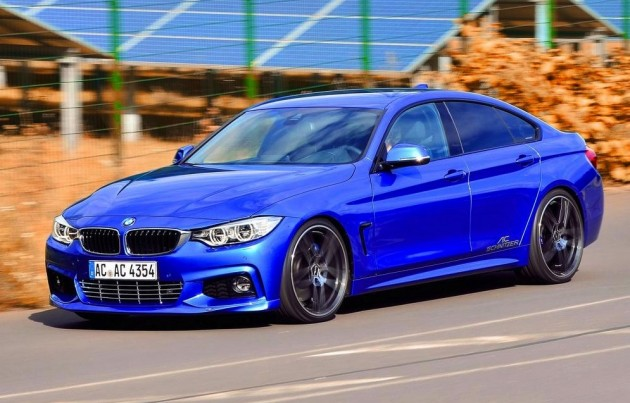 BMW 4 Series Gran Coupe AC Schnitzer front side