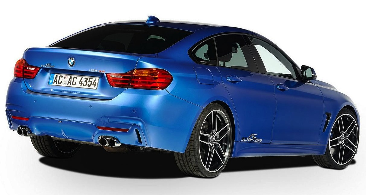 AC Schnitzer reveals upgrades for BMW 4 Series Gran Coupe ...