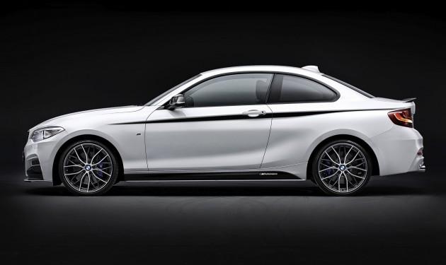 BMW M235i M Performance parts