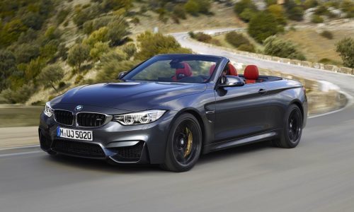 BMW M4 Convertible on sale in Australia from $178,430
