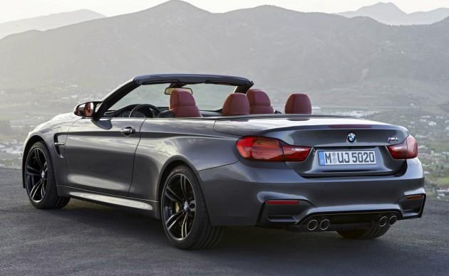 BMW M4 Convertible-rear