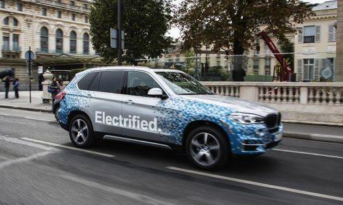 2015 BMW X5 eDrive prototype spotted, previews new hybrid X5