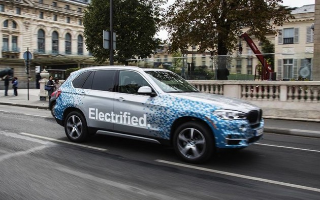 BMW X5 eDrive hybrid prototype