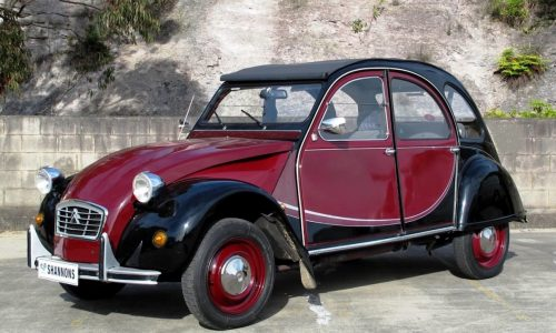 For Sale: Citroen 2CV owned by Dick Johnson's wife
