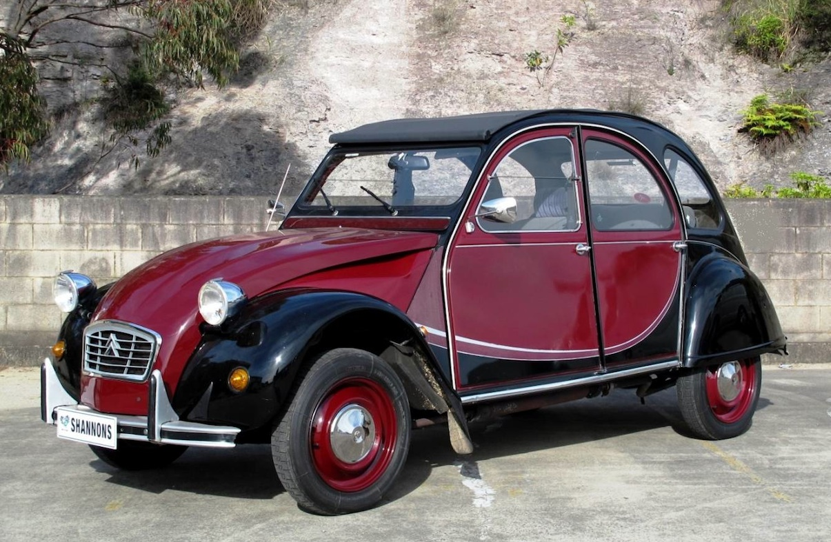 For Sale Citroen 2cv Owned By Dick Johnson S Wife