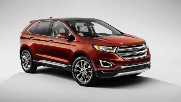 Ford Edge Euro spec