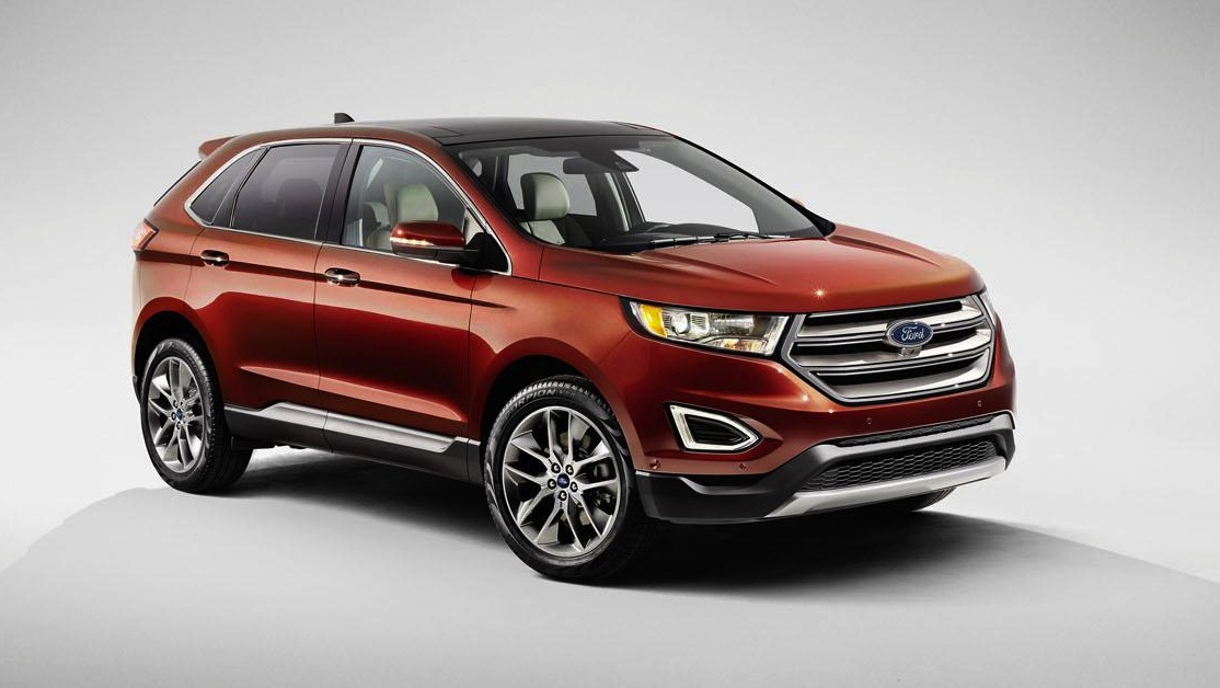 Euro-spec Ford Edge revealed at Paris show, to replace Territory
