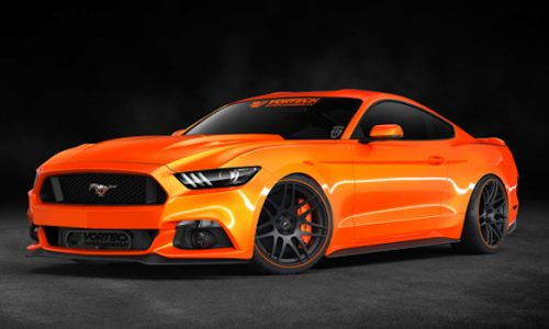 Vortech supercharges 2015 Ford Mustang, up to 895kW