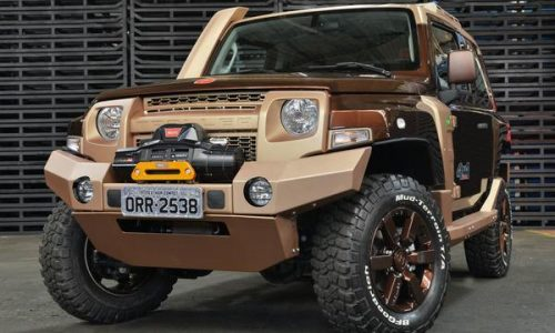 Ford Troller T4 concept to debut at Sau Paulo show