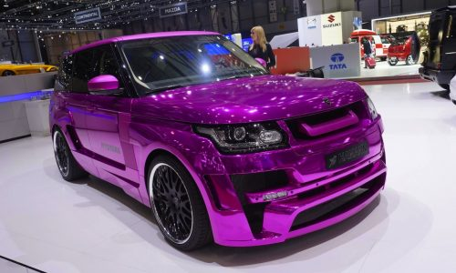Top 10 most flamboyant cosmetic car mods